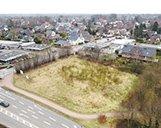 Luftaufnahme eines zu bebauenden Grundstückes