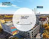 360° Panorama einer Büro- und Wohnanlage in München