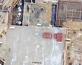 Orthofotos einer Baustelle in München zur Erfassung des Baufortschritts des Objektes.