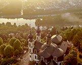 Luftaufnahme des Hotels Rebstock in Würzburg