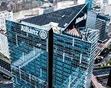 Luftaufnahme des Allianz Gebäudes in Paris