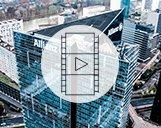 Drohnenvideo verschiedener Gebäude der Allianz in Paris