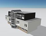 Ein Gebäude in NRW als 3D-Modell