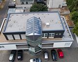 Luftaufnahme einer Zentrale in Köln