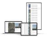 Darstellung der FairFleet Plattform auf verschiedenen Endgeräten